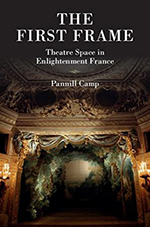 """Book Cover  for Pannill Camp's """"The First Frame"""""""