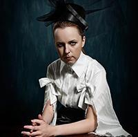 Photo of Marisa Wegrzyn a 2003 Graduate of the Performing Arts Department.
