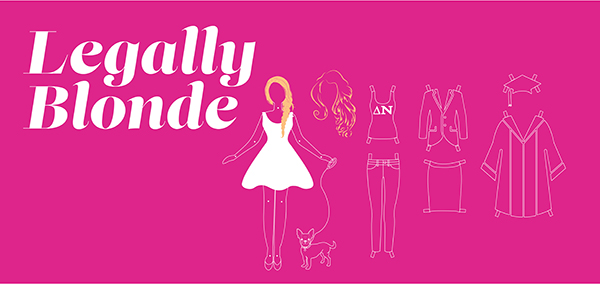 Legally Blonde, Graphic