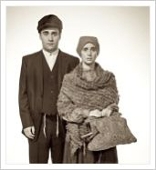 "Image of Sigi Gradwohl as Leah in ""The Immigrant"""