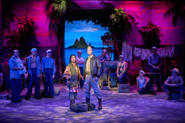 Photo of cast of South Pacific presented by Stages St. Louis 2017