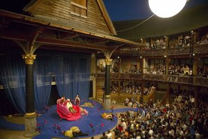 The Globe Theatre's stage