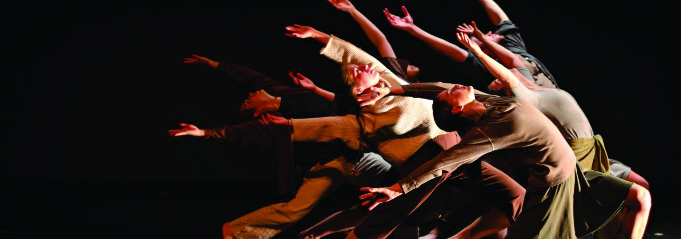 "Washington University Dance Theatre presents ""PastForward"""