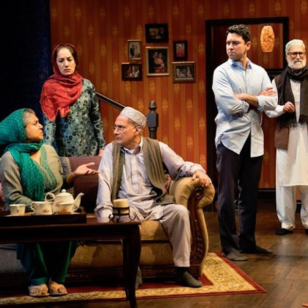 "Two Distinguished recent alums currently appearing Off-Broadway in ""An Ordinary Muslim."""