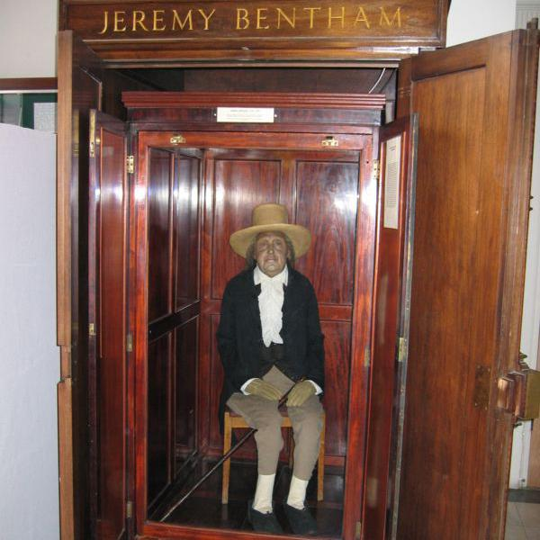 Mr. Jeremy Bentham's Posthumous Performance Prank… and its Lessons for Contemporary Biocapitalists, Necroliberals, and Political Theorists