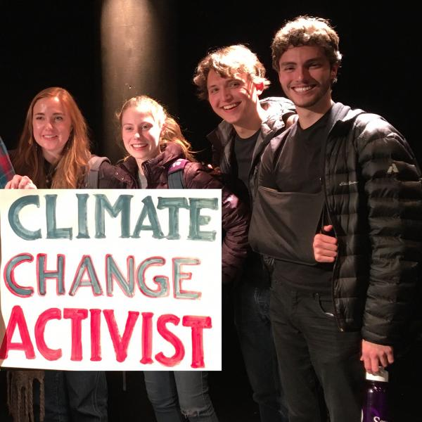 PAD Students Participate in Climate Change Theatre Action St. Louis