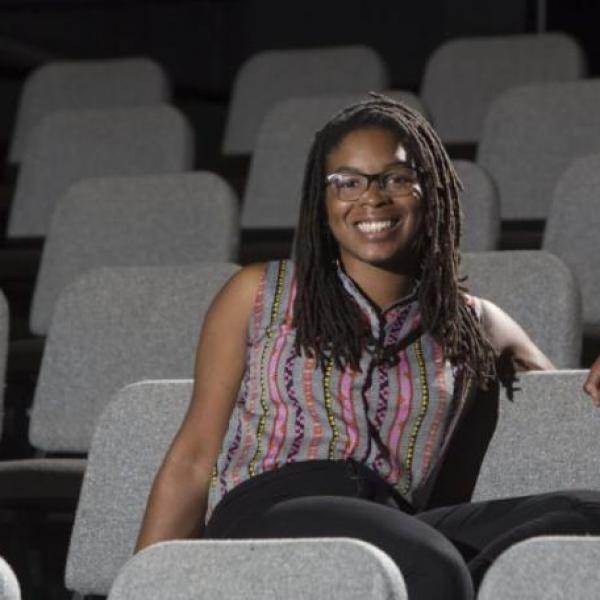 Student playwright Andie Berry on writing and the creative process