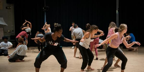Dancers at the Dance Education Laboratory Summer Institute 2019