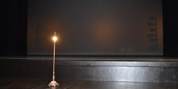 The Ghost Light: It is a common tradition to leave a