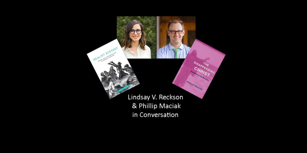Image of Lindsay V. Reckson and Phillip Maciak and their book covers