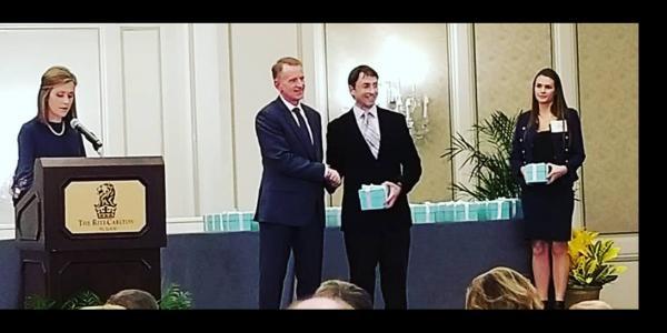 Morgan Wins Teaching Award